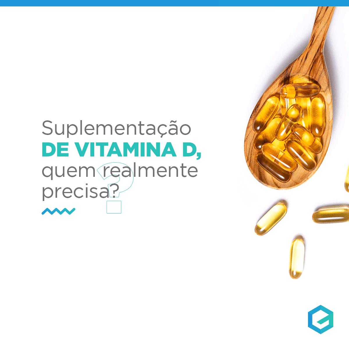 suplementação de vitamina D